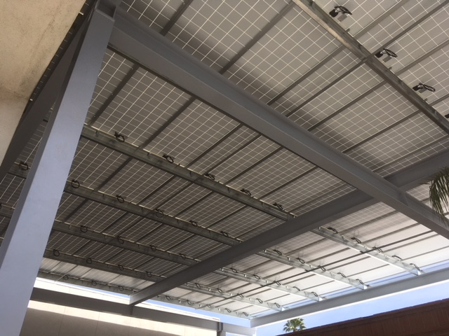 Parking Shade Structure Solar 1